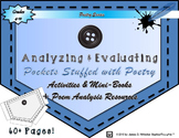 Pockets Stuffed With Poetry Resources, Mini-Book, and Activities
