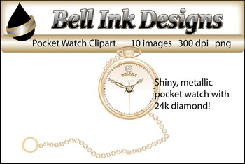 Pocket Watch Clipart