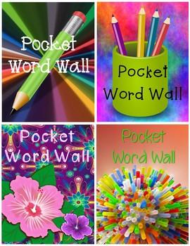 Pocket Word Wall