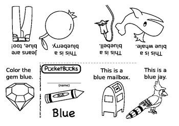 PocketBooks: Blue
