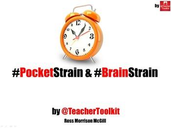 """#PocketStrain and #BrainStrain by @TeacherToolkit"