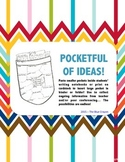 Pocketful of Ideas! Tool for Writing Journals and Notebooks!