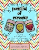 Pocketful of Memories - Memory Writing Craftivity for K-5