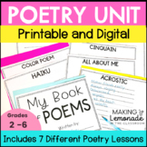 My Book of Poems {7 Introductory Poetry Lessons and Printables}