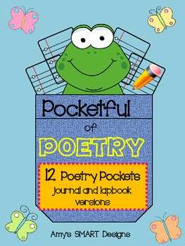 Pocketful of Poetry NonSMART Version Printables Only