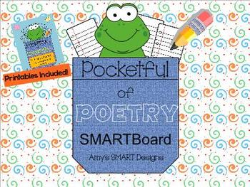 Pocketful of Poetry SMARTBoard lessons with Printables
