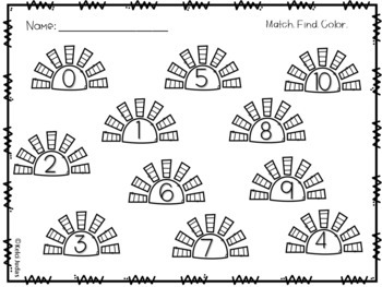 Pocketful of Subtraction- A Subtraction Problem Matching Game