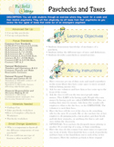 Pockets Change Financial Literacy - Paychecks & Taxes