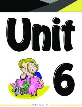 Pockets Change Financial Literacy: Unit 6 - Insurance, Ret