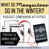 Podcast Activities - Printable & Google Slides Versions -