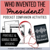Podcast Activities - Printable and Google Slides - Who Inv