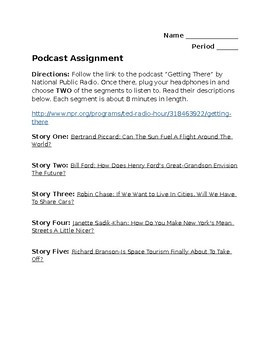 Podcast Assignment