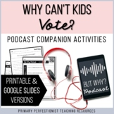 Podcast Companion Activities - Printable & Google Slides -