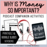 Podcast Companion Activities Printable & Google Slides - W
