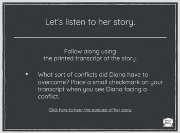 Podcast ELA Lessons- Inferring with Diana Nyad's Story of Survivial