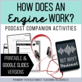 Podcast Companion Activities - Printable & Google Slides H