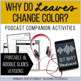 Podcast Companion Activities Print & Google Slides - Why D