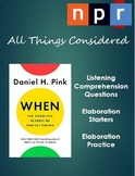 Time of Day - Podcast Listening Comprehension with Elaboration Practice