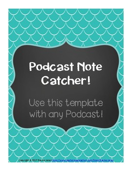 Podcast Note Catcher
