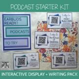 Podcast Starter Kit: Bulletin Board + Listening Guides