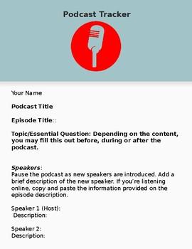 Podcast Tracker