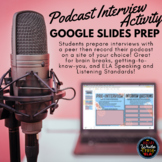 Podcasting: Student Interview Activity with Peers to Creat