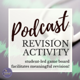 Podcasting in the Classroom | Game Board Revision Activity for Google Drive