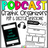 Distance Learning | Podcast Response Sheets & Google Slides