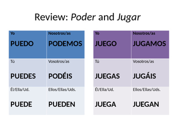 Poder + Jugar Celebrity Power Point
