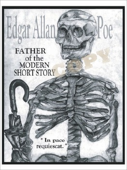 Poe - Father of the Short Story Poster