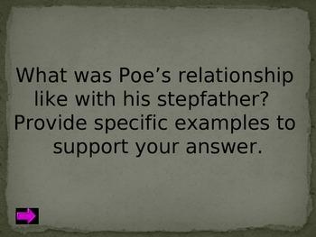 Edgar Allan Poe Jeopardy
