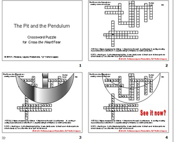 Poe Pit and Pendulum Puzzle for Pupils!