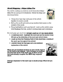 Poe Scroll Mapping Informational Text Activity