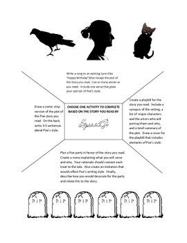 Poe Story Responses