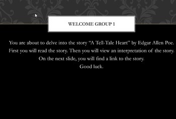 The Stories of Edgar Allen Poe Web Quest