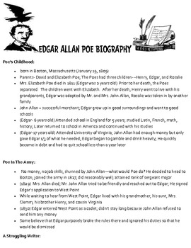 Poe Writing Assignment - Annabel Lee