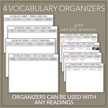 """Vocabulary for Poe's """"House of Usher"""": Activities & Interactive Game"""