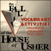 """Vocabulary for Poe's """"House of Usher"""": Activities & Intera"""