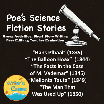 Poe's Science Fiction, Short Story Writing, Peer Review, Writing Fluency, Sub