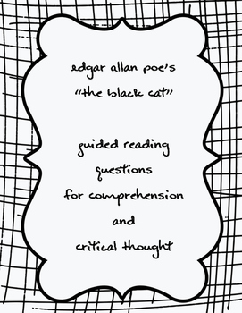 """Poe's """"The Black Cat"""" Guided Reading Questions"""