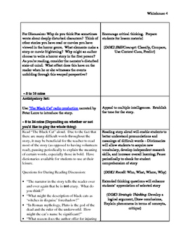 """Poe's """"The Black Cat"""": Literary Genres & Short Story Assignment w/ Rubric"""