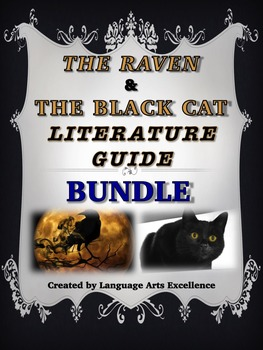"""""""The Black Cat"""" and """"The Raven"""" Literature Guides {{BUNDLE"""