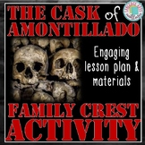 The Cask of Amontillado Family Crest Activity