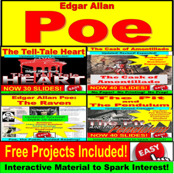 Poe's The Raven : Poem PREZI PRSENTATION