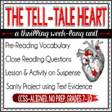 Poe's The Tell-Tale Heart Unit Plan: lessons, activities,