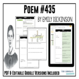 "Poetry Lesson:""Poem 435"" (Much Madness...) by Dickinson {Google Resource}"