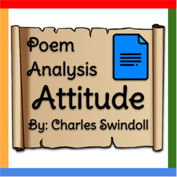 "Poem Analysis: ""Attitude"" by Charles Swindoll"