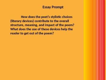 Poem Analysis Essay