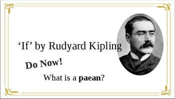 Poem Analysis 'If' by Rudyard Kipling
