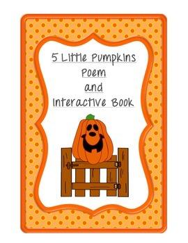 Poem/Book: 5 Little Pumpkins